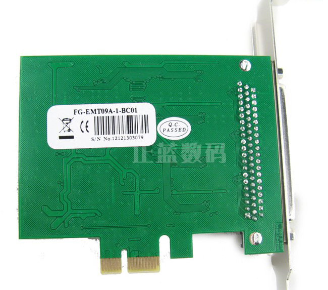 Card PCI-E to 8 cổng RS232 SYBA FG-EMT09A-1-BC01 HK