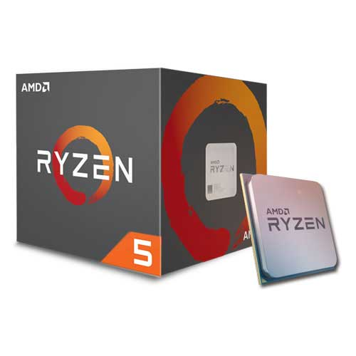 AMD Ryzen™ 5 1600X Processor (3.6GHz, 19MB Cache, up to 4.0GHz) Socket AM4 (618ELS)