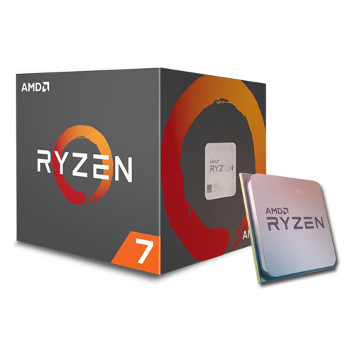 AMD Ryzen™ 7 1700X Processor (3.4GHz, 16MB Cache, up to 3.8GHz) Socket AM4 (618ELS)