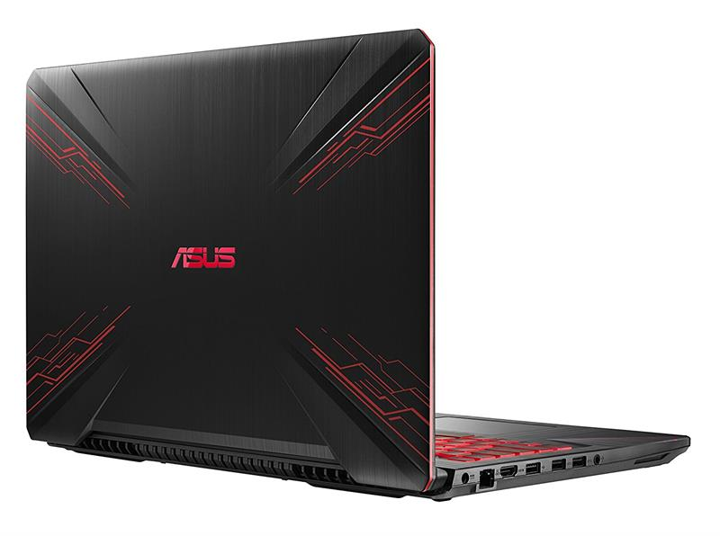 Asus Gaming FX504GE E4196T Intel® Core™ i7 _8750HQ _8GB _1TB Hybrid _128GB SSD _GeForce® GTX1050Ti with 4GB GDDR5 _Win 10 _Full HD IPS _LED RED KEY _418D