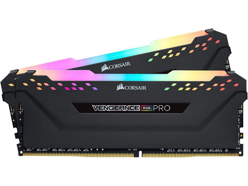 Ram PC Corsair Vengeance RGB Pro DDR4 KIT 16GB (2x8GB) Bus 3600Mhz C18 (CMW16GX4M2C3600C18) _1118KT