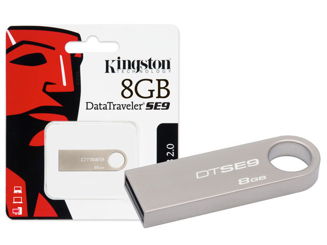 USB kingston 8GB 2.0 DTSE9H