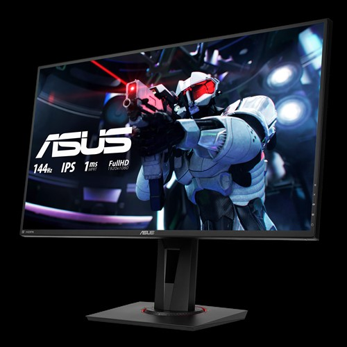 LCD Asus VG279AQ | 27 Full HD (1920 x 1080) IPS 165Hz Eye Care Gaming Monitor _ HDMI _DisplayPort _DVI-D _919S