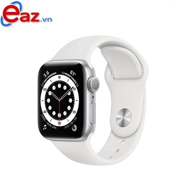 Apple Watch Series 6 GPS 40mm MG283VN/A Silver Aluminium Case with White Sport Band | 1120D