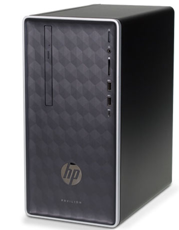 PC HP Pavilion 590 p0118d (7KM17AA) | Intel® Core™ i3 _9100 _4GB _256GB SSD _VGA INTEL _Win 10 _WiFi _819F