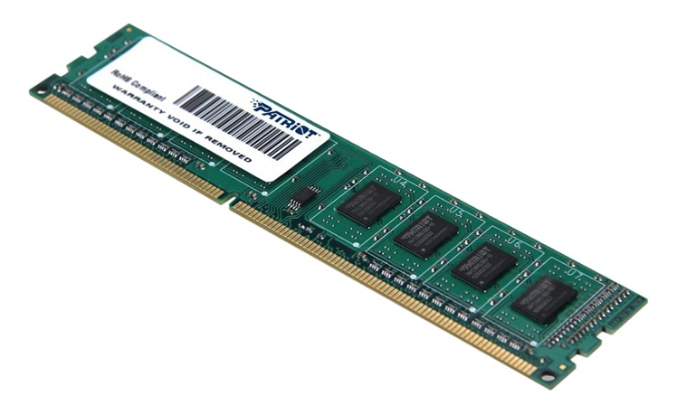 RAM PC Patriot 4GB DDR3 Bus 1600Mhz (PC3-12800) 16 chip _  PSD34G16002/PSD34G160081 817MC