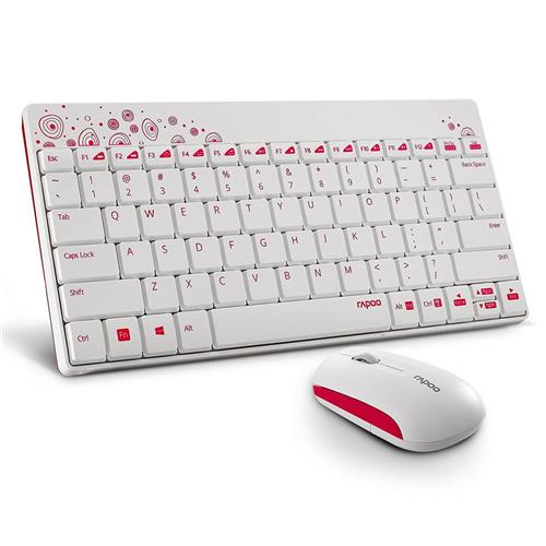 Combo Keyboard and Mouse Wireless Rapoo 8000 318D